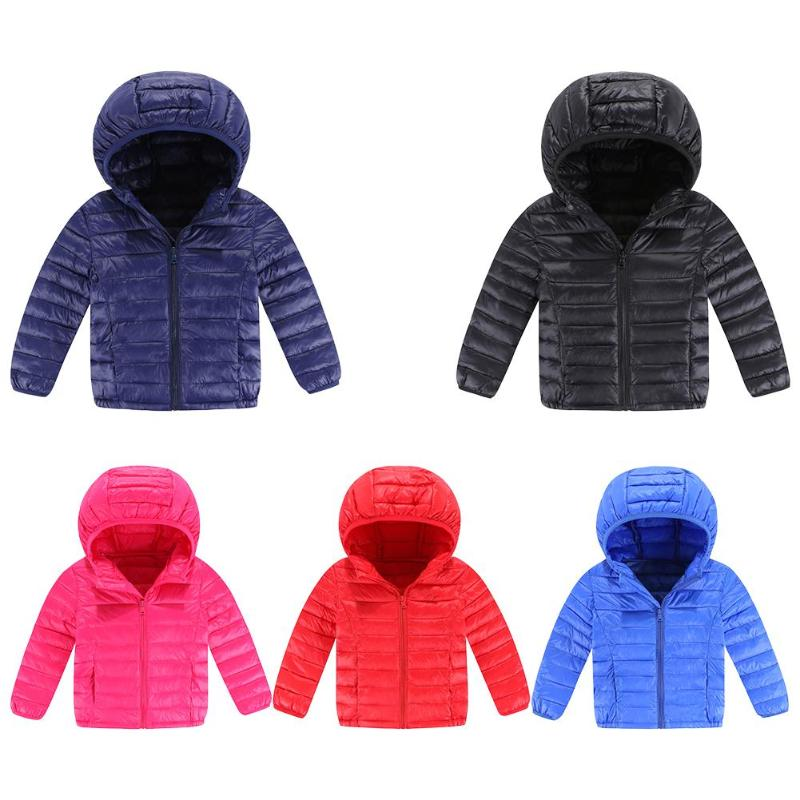 Childrens Winter Zipper Outerwear Basic Hooded Jackets Kids Long Sleeve Clothes Boys Girls Down Coat Solid Color Outwear 5-9YChildrens Winter Zipper Outerwear Basic Hooded Jackets Kids Long Sleeve Clothes Boys Girls Down Coat Solid Color Outwear 5-9Y