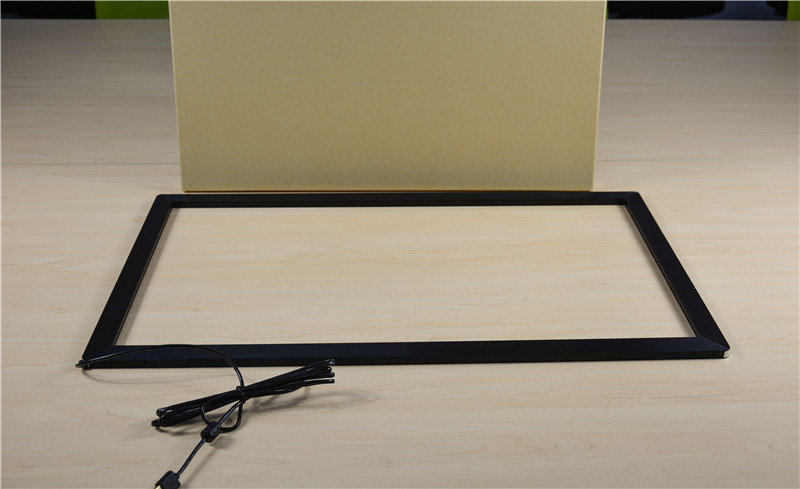 18.5 inch multi IR touch panel 10 points infrared touch screen frame for LCD monitor/PC/display