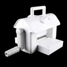 The new white Die-Cut Machine Die Cutting Embossing Scrapbooking Cutter Piece Cut Paper
