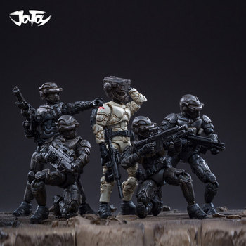1/25 JOYTOY action figure soldiers(5pcs/lot) DBSIDIAN TEAM Collection model doll Free shipping