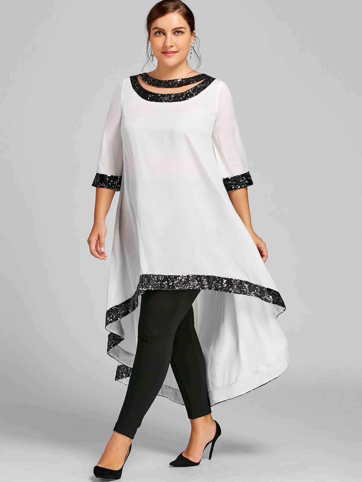 a94f7fa283 Detail Feedback Questions about Gamiss Women Spring Plus Size 5XL ...