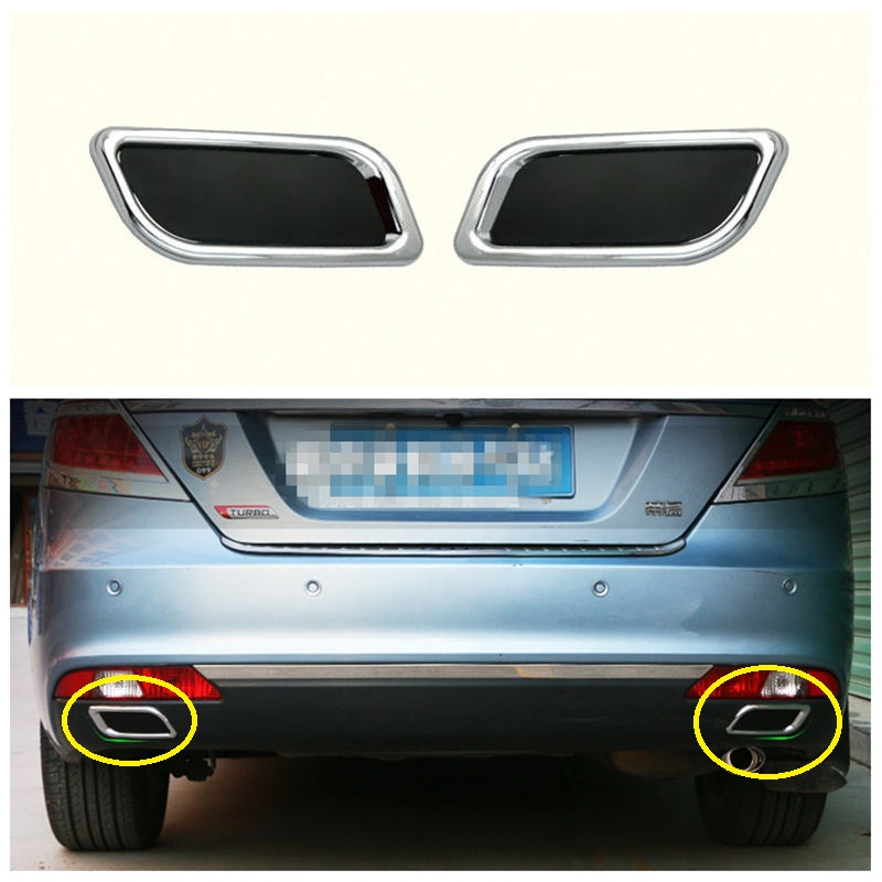 Geely new Emgrand 7 EC7 EC715 EC718 Emgrand7 E7 ,Car false exhaust pipe sticker ,car sticker,car accessories, geely emgrand 7 ec7 ec715 ec718 emgrand7 e7 car right left taillights rear lights brake light original