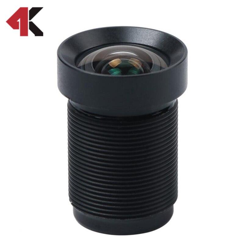 4,35 MM Objektiv 1/2. 3 Zoll mit Staub Ring 10MP 72D HFOV NICHT verzerrung für Sportliche Kameras und Phantom 3/4 Drohnen Heißes Freies Verschiffen
