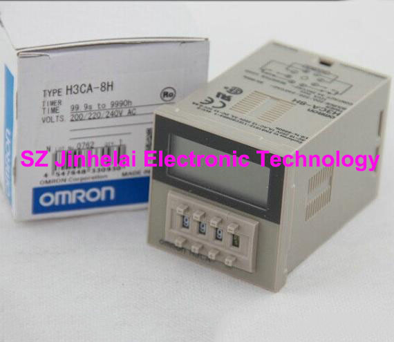 New and original H3CA-8H DC24V and AC220V OMRON TIME RELAY