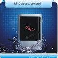 DIY fácil panel de acrílico impermeable 125 KHZ EM RFID sistema de control de acceso/gratis enviar 10 unids crystal mandos + 2 unids tarjeta de administración