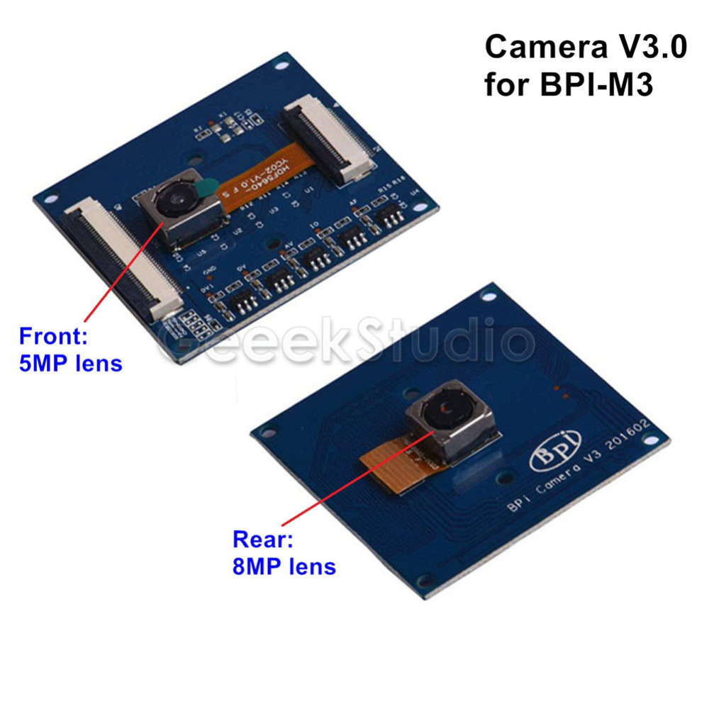 Banana Pi M3 camera with 8MP 5MP lens BPI M3 camera module with OV8865 8 mega