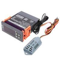 220V Digital Air Humidity Control Controller WH8040 Range 1 99 Control De Umidita Di Controllo Hygrometer