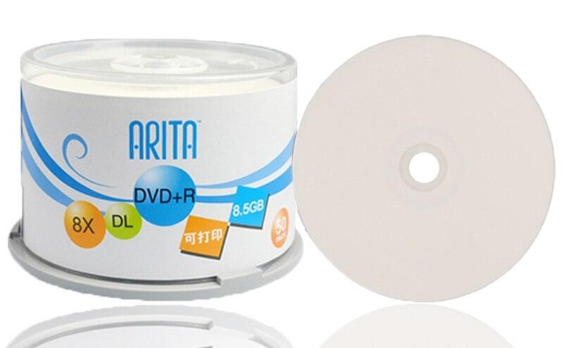Gros DVD + R 8.5 GB double couche D9 8X240 min 50 pcs/lot livraison gratuite