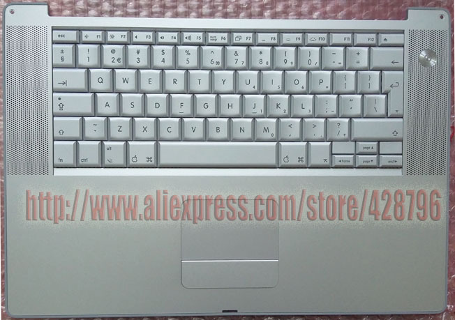 613-4697-C -B,Powerbook G4 Keyboard Trackpad 15 A1046 1GHz/1.25 GHz (M8980,M8981),1.33GHz/1.5GHz A1095(M9421, M9422) Brand New! the powerbook