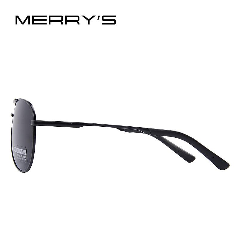 MERRY'S Gafas de Sol Polarizadas Hombres Conductor Espejo Gafas de - Accesorios para la ropa - foto 4