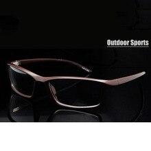 Gafas graduadas flexibles TR90 para hombres, gafas ópticas de montura para hombres, deportivas, de grau