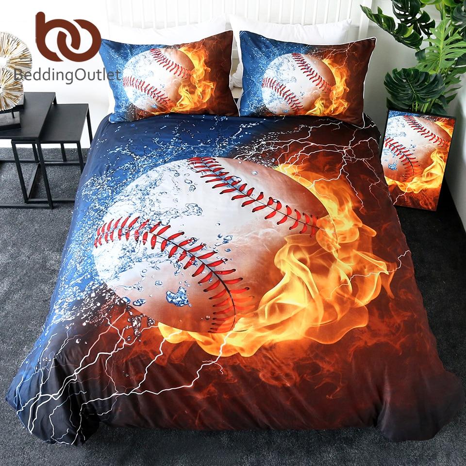 3D Basketball Sport Bedding Set Duvet Cover Comforter Cover Pillow Case