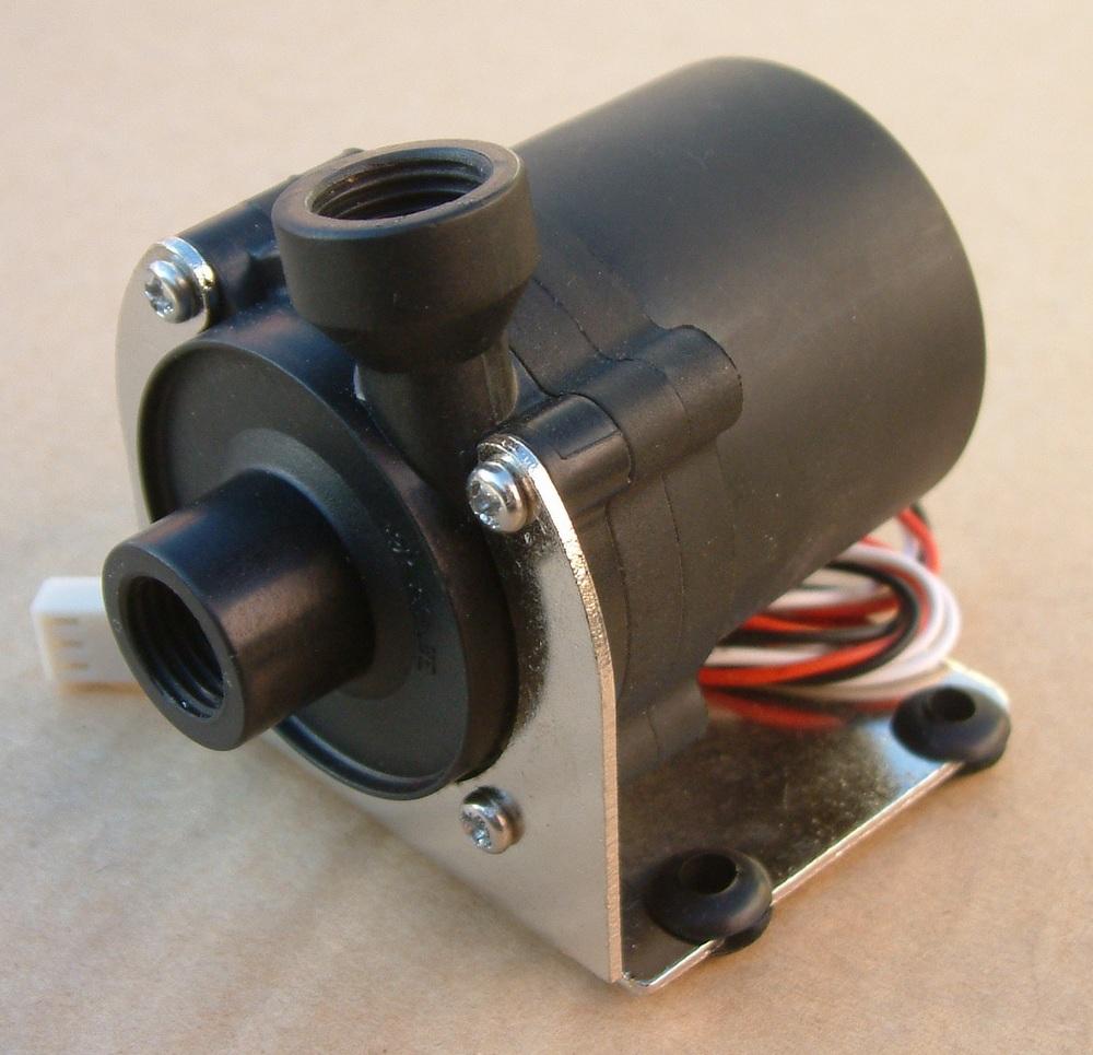 Prix pour 12 v Pompe À Eau G1/4 ''filetage Intérieur Avec La Tôle Support pour DIY ordinateur d'eau de refroidissement refroidisseur