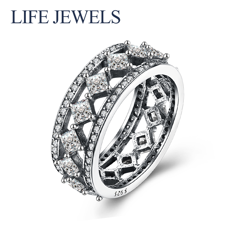 Authentic100% 925 Sterling Silver Austria Zircon Rings Charm l Women Luxury Sterling Silver Valentines Day Gift Jewelry 18170Authentic100% 925 Sterling Silver Austria Zircon Rings Charm l Women Luxury Sterling Silver Valentines Day Gift Jewelry 18170