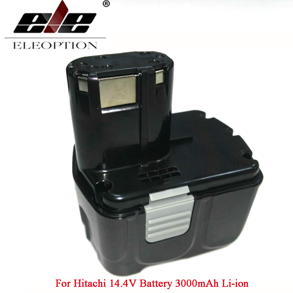 Rechargeable For Hitachi 14.4V Battery 3000mAh Li-ion Battery For Hitachi CJ14DL DH14DL EBL1430 BCL1430 BCL1415 цена и фото