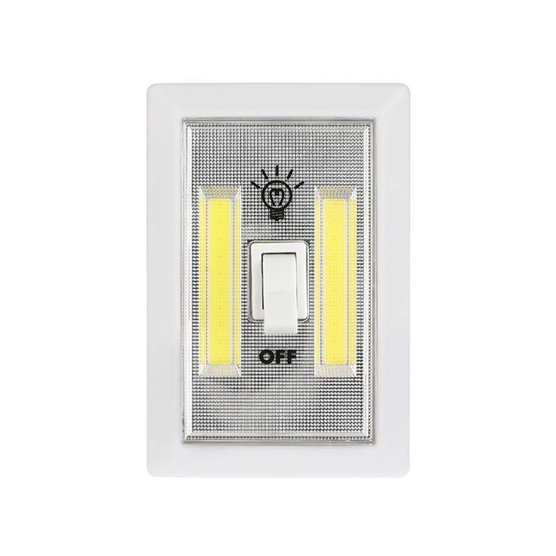 Led Garage Lights Battery: New Magnetic Mini Led Led Wireless Lamp Wall Switch Night