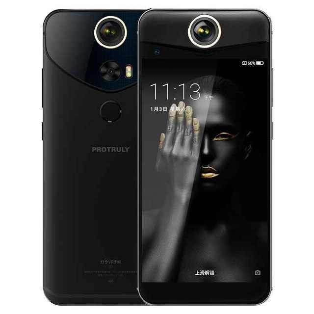 Смартфон PROTRULY V10S 360 градусов 26MP 3D VR Full View android 7,1 Восьмиядерный процессор Snapdragon 625 4G NFC 4 Гб + 64 Гб 16 МП мобильный телефон