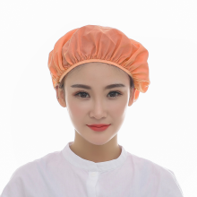Chef-Hat Cloth-Caps Canteen Workshop White Women And Sanitary Elastic-Design Breathable