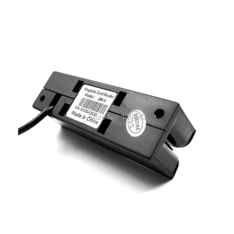 3 Tracks Hi-co&Lo-co magnetic stripe Card Reader USB interface 90U lo кожаный ремень lo