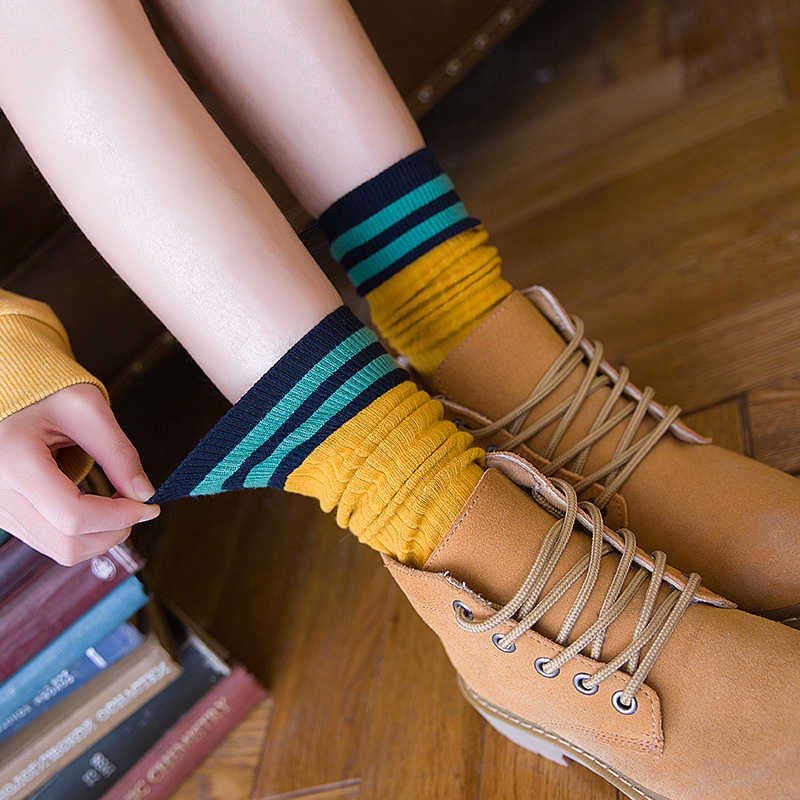 CHAOZHU ใหม่ Omnipotent ขนาดหลอดหลวมด้านบนถุงเท้าจาก 8 ปีเด็กผู้ใหญ่ Fit ดียืด amazing ถุงเท้า