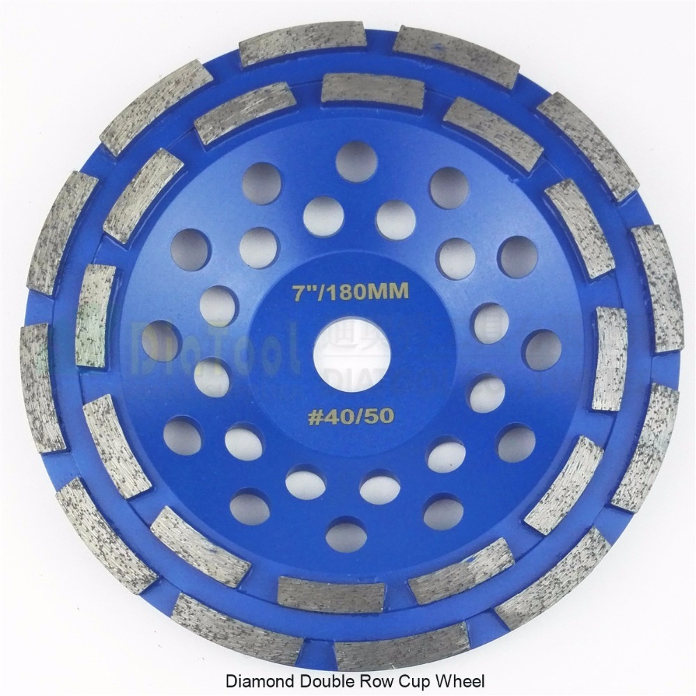 DIATOOL 7/180mm Diamond Double Row Grinding Cup Wheel For Granite And Hard Material, Bore 22.23mm With 16mm Washer видеоигра бука saints row iv re elected