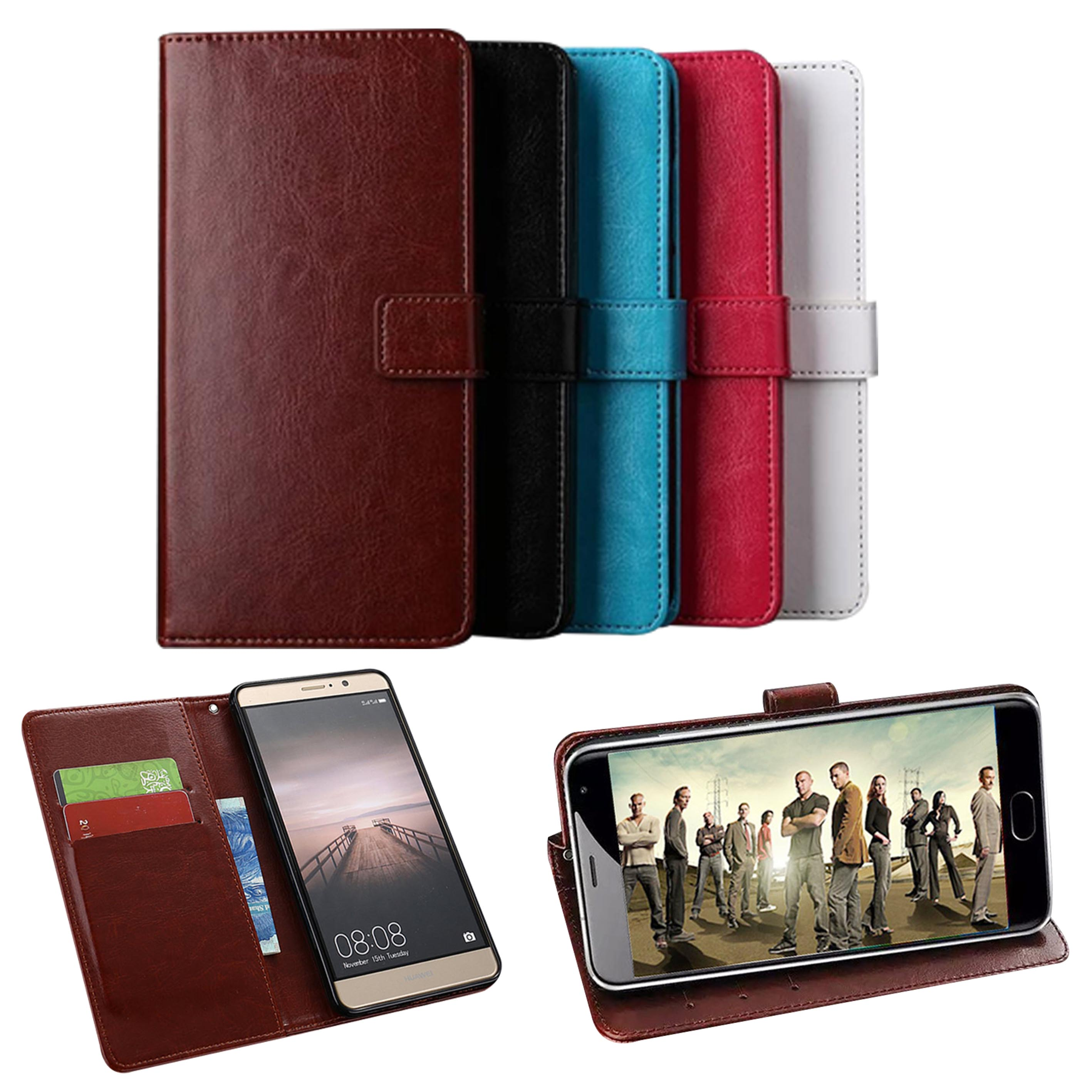 Wallet Genuine Leather Case For Asus Zenfone Go TV ZB551KL Coque Cover Luxury Flip Kickstand Case For Asus Zenfone Go TV Cases