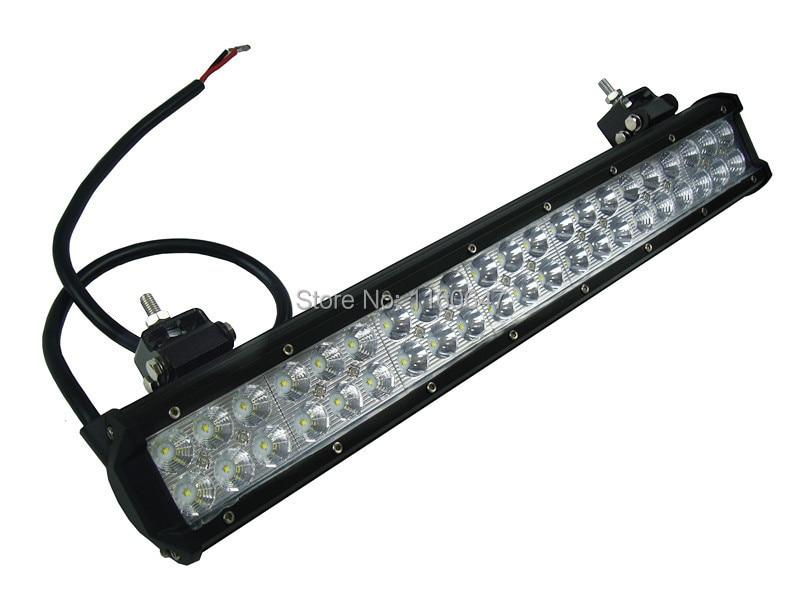 2 шт. 22 дюймов 126 Вт LED-бар место потока ip67 4x4 ван светодиодный внедорожных свет 126 вт пикап utv Wagon двойной ряд грузовиков led свет работы бар 12 В