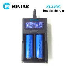 Vontar Smart ЖК-дисплей USB Батарея Зарядное устройство Smart для 26650 18650 18500 18350 17670 16340 14500 10440 литиевая батарея 3,7 В