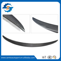 Hight quality Carbon fiber Material Car Roof Wing Rear Spoiler for W205