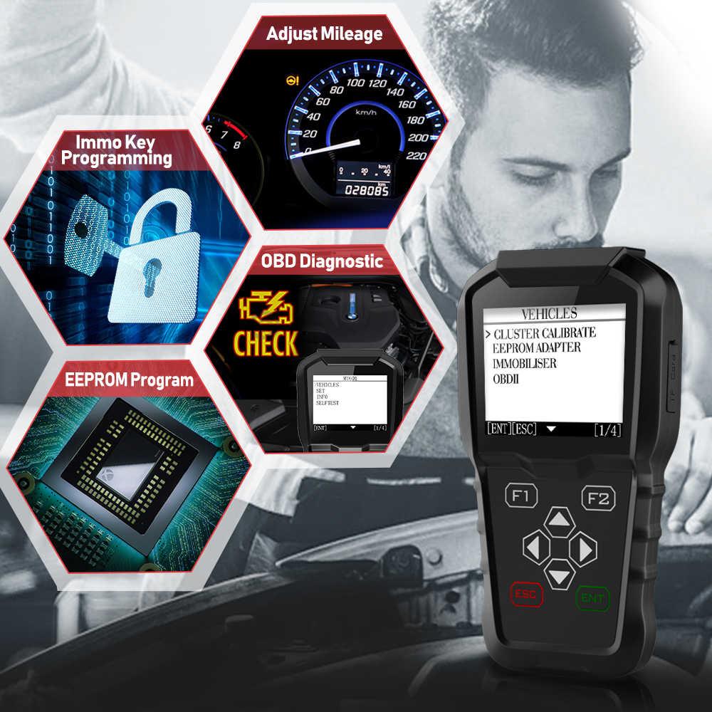 Detail Feedback Questions about OBDPROG MT601 OBD2 Car Diagnostic