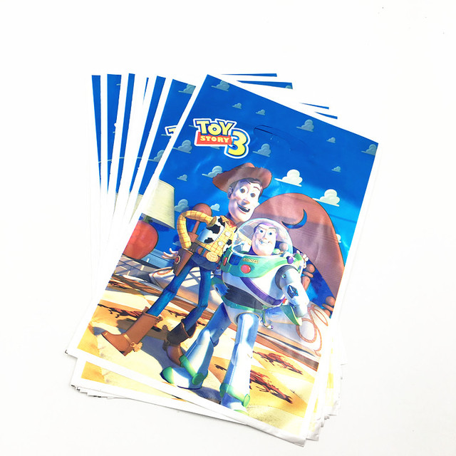 10pcs Toys Story Loot Bags Kids Birthday Party Supplies Toys Story