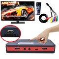 Online Streaming Ao Vivo Jogo de Captura de Vídeo HD 1080 P AV TV HDMI YPbpr CVBS Box Recorder Com Controle Remoto pode OBS Mic para o Disco USB