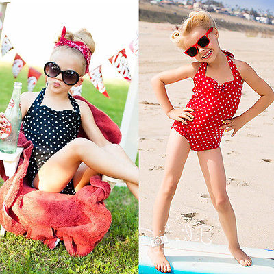 Retail Summer Style 2016 New Style Hot Lovely and Beautiful Free Shipping Girls Kid Swimsuit Children Swimwear Bathing Beachwear