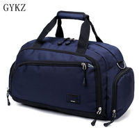GYKZ New Women and Men Sport Gym Bags Large Duffle Bag Portable Travle Bag Waterproof Nylon Outdoor Fitness Shoulder Bag HY165