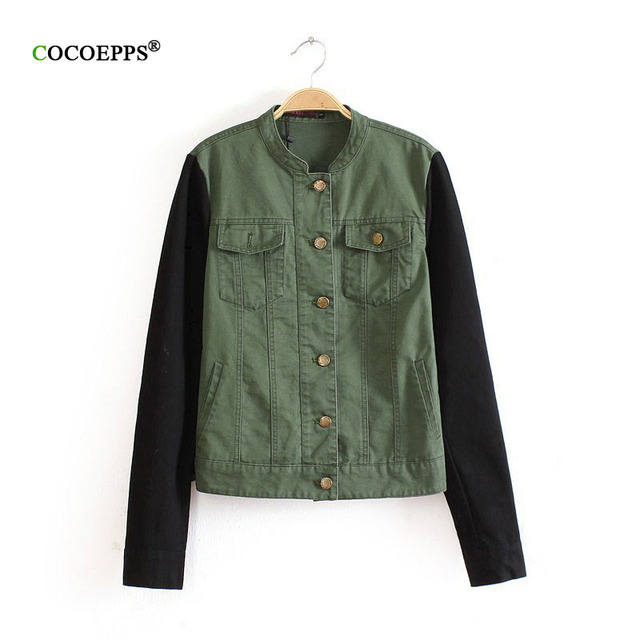 9dcb883bfcd chaquetas verde militar mujer