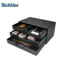 3 Слои Канцтовары ящики для хранения Коробка рабочего стола