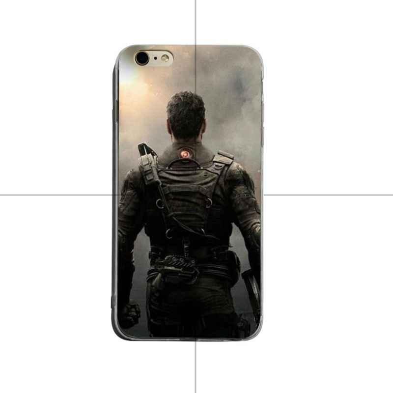 Yinuoda Tom Clancy s arc-en-ciel 6 Patriots etui transparent pour iPhone XSMax X XS XR 7 7 Plus 8 8 plus 6 6 s 6 plus