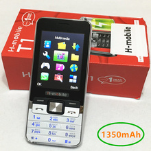 1350mAh 2.8″ T1 mobile phone Russian keyboard button cheap china Phone gsm Cell Phones cellular original mobile phones H-mobile