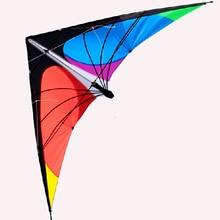 Список 1,8 м мощность Профессиональный двойной линии трюк воздушный змей с ручкой и линией хороший Летающий заводской выход