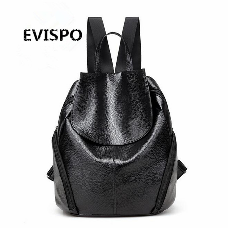 Fashion Women s PU Leather Backpacks School Rucksack for Teenage Girls Ladies Travel Shoulder Satchel Bag