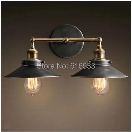 RH Retro Vintage Industry Americanstyle ősi esernyő Edison fali - Beltéri világítás