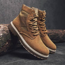 Casual shoes Men Boots Winter men Ankle Fashion Martin warm Outdoor Working tenis masculino adulto