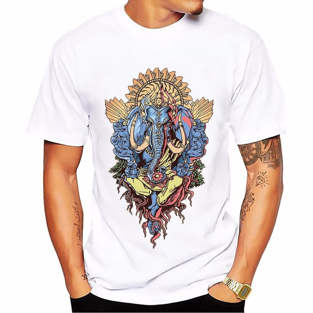 Men's T-shirts with Ganesha