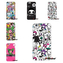 JAPANESE Tokidoki All Stars Sticker Silicone Phone Case For iPhone X 4 4S 5 5S 5C SE 6 6S 7 8 Plus Galaxy Grand Core Prime Alpha(China)