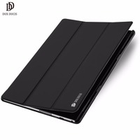 DUX DUCIS Luxury Leather Case For Lenovo TAB 4 10 Plus Flip Cover Stand Case For