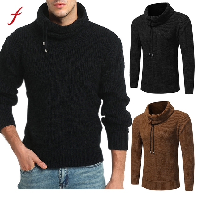 af05a4aed22d4 Men s Sweater Autumn Winter Pullover Loose Jumper Knitwear Outwear Blouse  casual pullover autumn Male Tops Warm