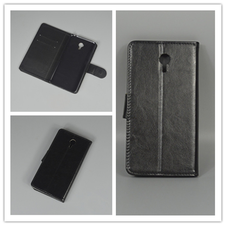 Crystal grain wallet case hold two Cards with 2 Card Holder and pouch slot for meizu m3 note meizu meilan note 3