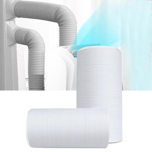 Tubo de escape Flexible Universal para aire acondicionado, piezas de repuesto, 15cm x 1,5 m / 15cm x 2m/1,3 cm x 2m