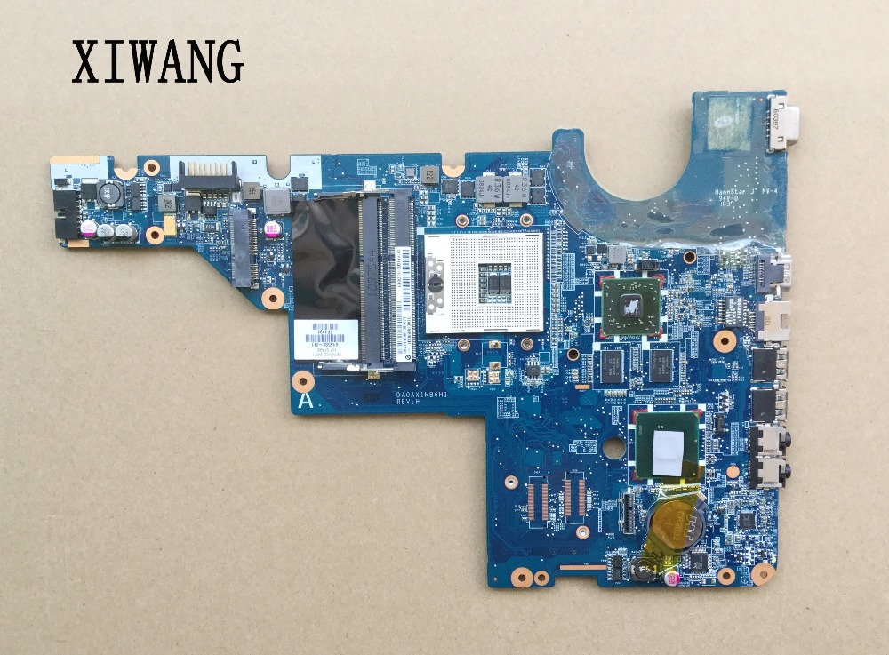 615580-001 Free Shipping For HP motherboard CQ42 G42 G62 CQ62 laptop motherboard DAOAX1MB6F0 DA0AX1MB6H0 100% Fully Tested free shipping 616448 001 for hp cq62 notebook pc motherboard 100% tested good