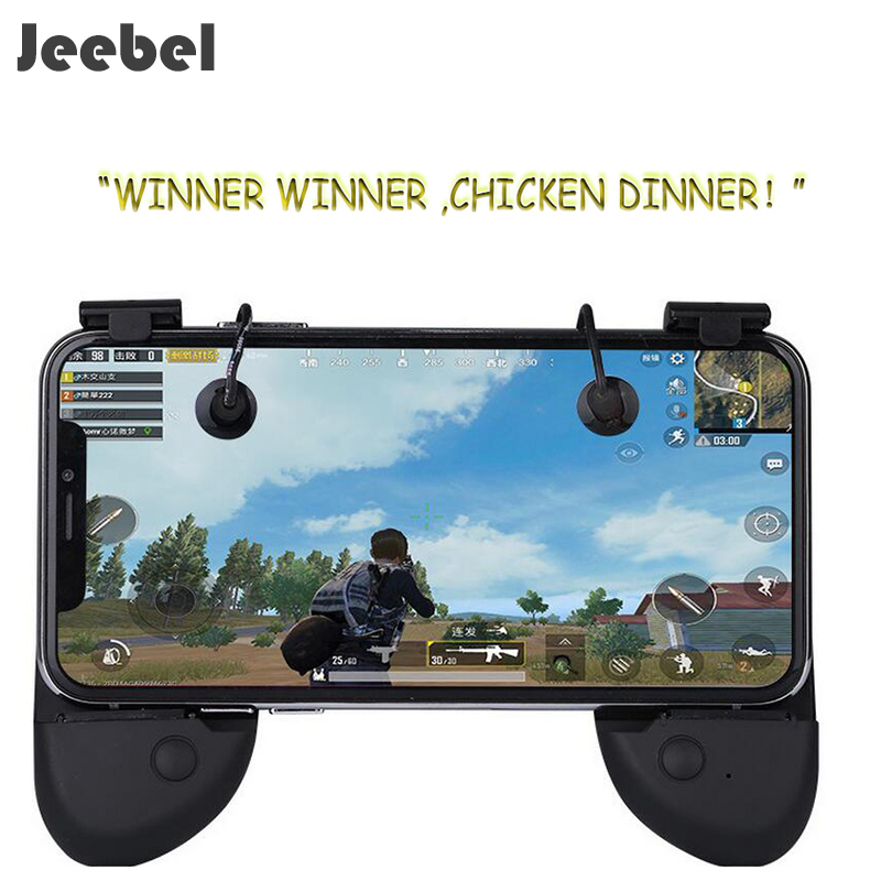 Jeebel Trigger Gamepad Mobile Joystick Universal Mobile Game Controller Shooter Fire Button Key For PUBG Mobile Controller